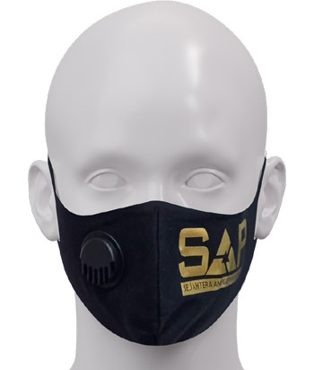 3 MASKER SAP GOLD (3PLY COTTON COMBAT)